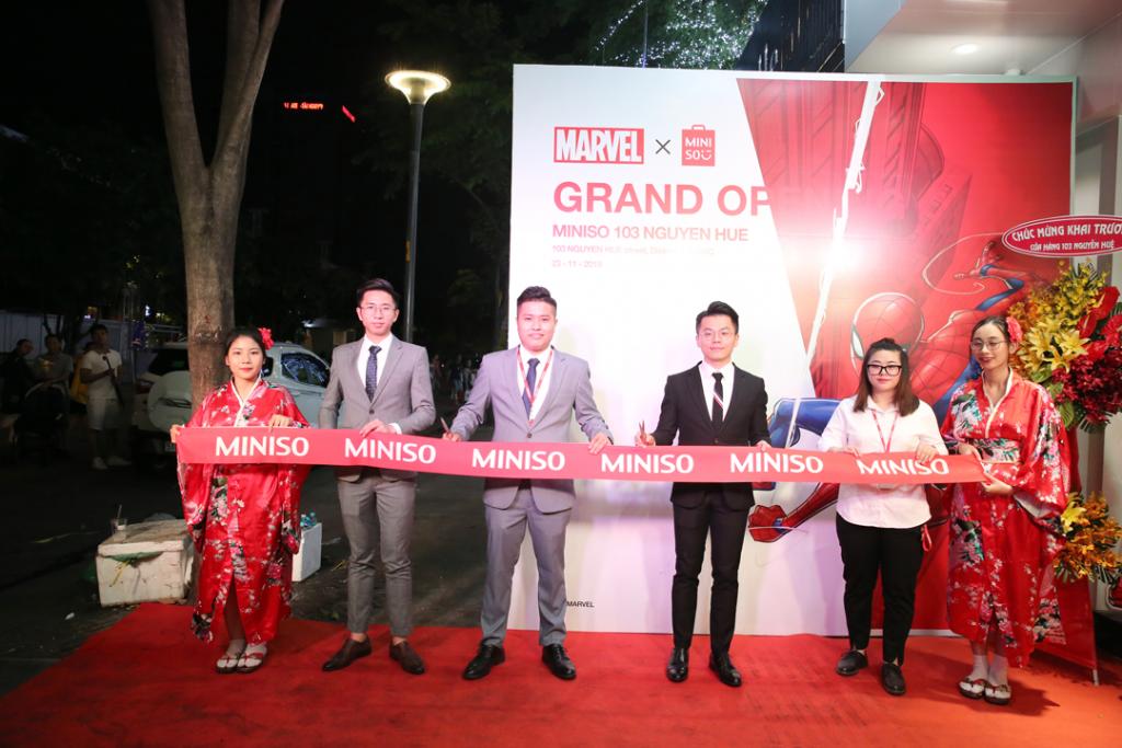 MINISO khai trương cửa hàng thứ 42 tại 103 Nguyễn Huệ – TP.HCM