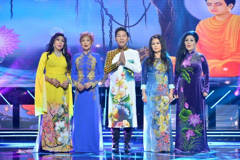 """Liveshow """"Bụi Trần"""" ca sĩ Đặng Linh Vũ có Thánh đường sân khấu mang màu sắc Phật Giáo"""