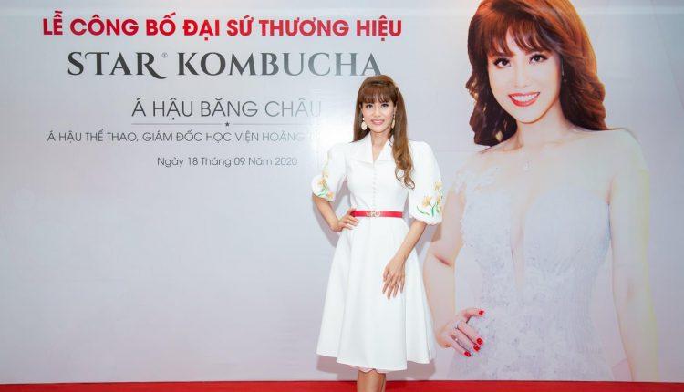 Nguyễn Băng Châu là đại sứ thương hiệu cho Star Kombucha