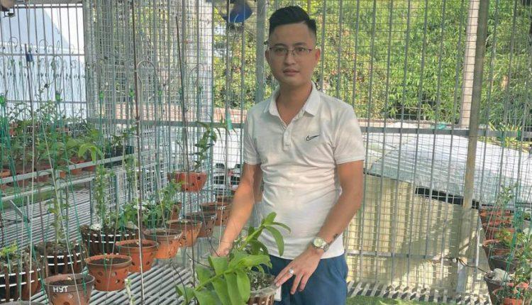 Nghệ nhân lan Nguyễn Ngọc Duy 2