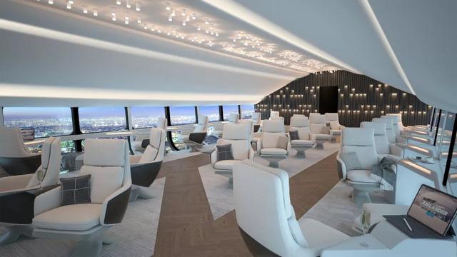 Bên trong máy bay lớn nhất thế giới: Sang như khách sạn 5 sao, bay êm ru, view tuyệt đẹp, chỉ có tốc độ là hơi chậm – Ảnh 3.